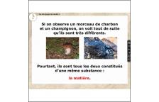 LES LEÇONS NUMÉRIQUES DE SCIENCES 1 - LA MATIÈRE