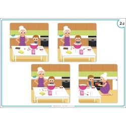 Exemple de poster (4 images séquentielles)
