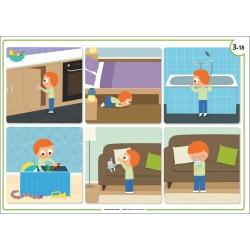 Exemple de poster (6 images séquentielles)
