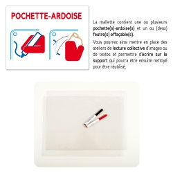 Pochette-ardoise