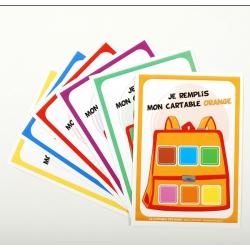 Cartons à compléter