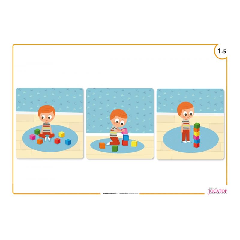 Exemple de poster (3 images séquentielles)