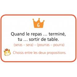 """Carte """" Le juste choix """""""