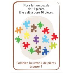 """Carte verso """"Problèmes soustractifs"""""""