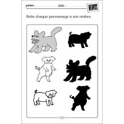 Exemple de fiche (Les trois petits cochons)