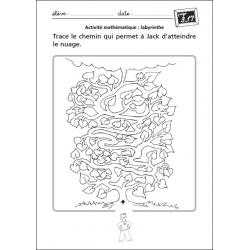 """Exemple de fiche """"Activité mathématique"""""""
