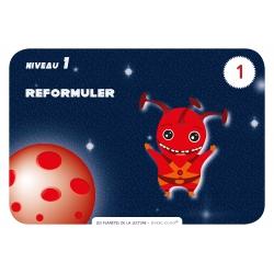 """Carte """"Reformuler"""""""
