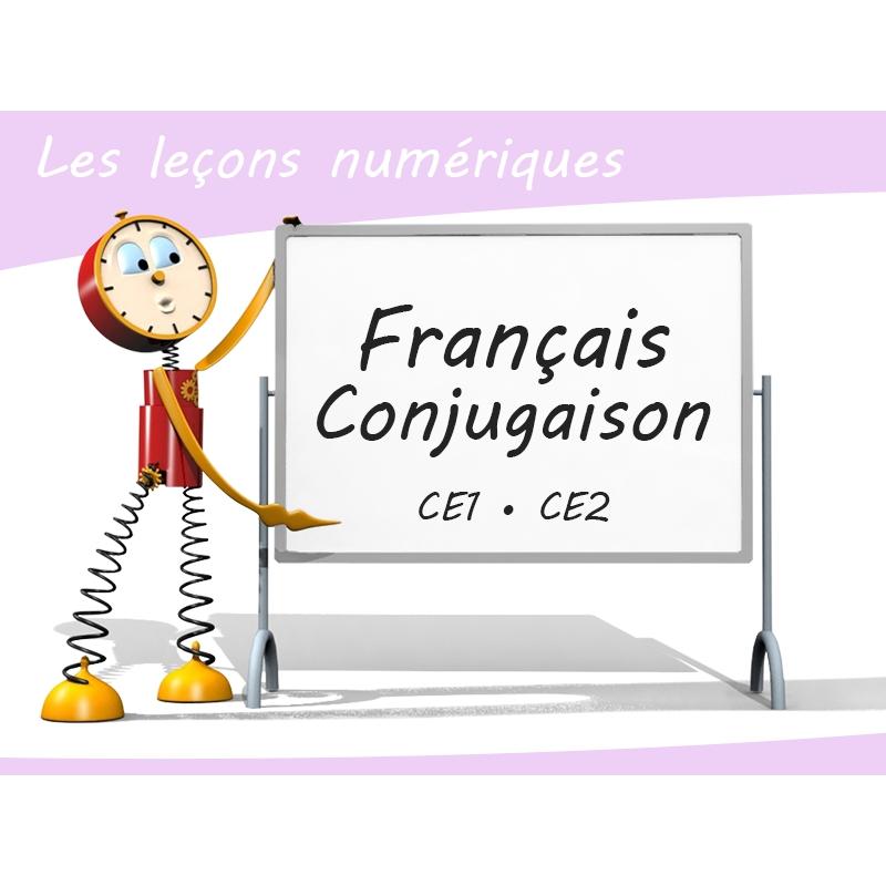 Les Lecons Numeriques De Francais Conjugaison