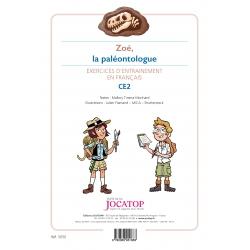 Zoé, la paléontologue