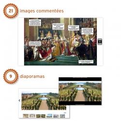 • 21 images commentées : une lecture guidée reprenant les points clés de chaque ressource • 9 diaporamas thématiques
