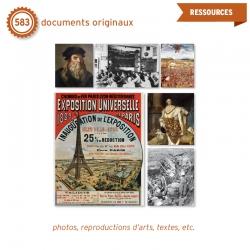 Les leçons sont enrichies par 583 documents originaux (dont des photos, reproductions d'œuvres d'arts, textes, etc.).