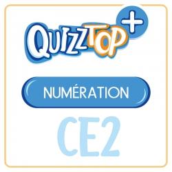 Quizztop+ • Numération • CE2