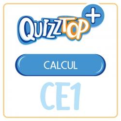 Quizztop+ • Calcul • CE1