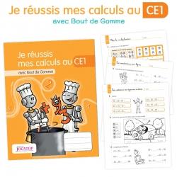 Je réussis mes calculs au CE1