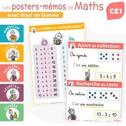 Les posters-mémos de Maths CE1