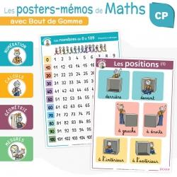 Les posters-mémos de Maths CP