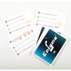 Cartes Énigmes (10,5 x 15 cm)